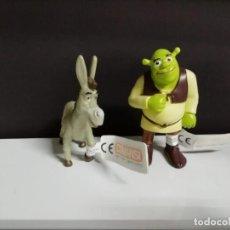 Figuras de Goma y PVC: LOTE FIGURAS ASNO Y SHREK DE COMANSI. Lote 161264758