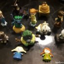 Figuras de Goma y PVC: LOTE DE 12 FIGURAS + ALGUNOS CATÁLOGOS DISNEY ANIMATORS COLLECTION LITTLE. RARAS Y COTIZADAS. Lote 161310813