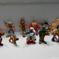 Figuras de Goma y PVC: FIGURAS GOMA LOTE 11 ALGUNA MUY ESCASA. Lote 161410317