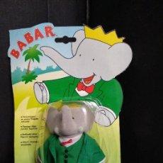 Figuras de Goma y PVC: BABAR FIGURA BABAR EN BLISTER - IDEAL - NUEVO. Lote 161271922