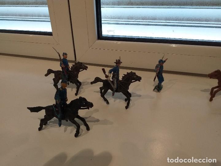 Figuras de Goma y PVC: FIGURAS JECSAN COMANSI REAMSA PECH INDIOS VAQUEROS OESTE - Foto 2 - 161445918