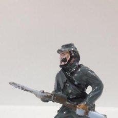 Figuras de Goma y PVC: SOLDADO CONFEDERADO . REALIZADO POR LAFREDO . AÑOS 60. Lote 161467122