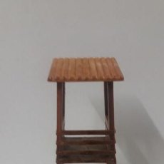 Figuras de Goma y PVC: TORRE DE VIGILANCIA PARA FUERTE . REALIZADA EN PLASTICO . AÑOS 60. Lote 161527494