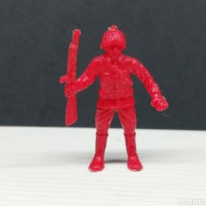 Figuras de Goma y PVC: FIGURA DUNKIN.. SOLDADO RUSO.. COLECCIÓN HAZAÑAS Y COMBATES.... Lote 161590996