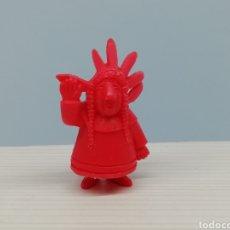 Figuras de Goma y PVC: FIGURA DUNKIN.. COLECCIÓN VICKIE EL VIKINGO.. TITO.. TAURUS... Lote 161593978
