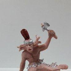Figuras de Goma y PVC: GUERRERO INDIO . AÑOS 60 / 70. Lote 161672718