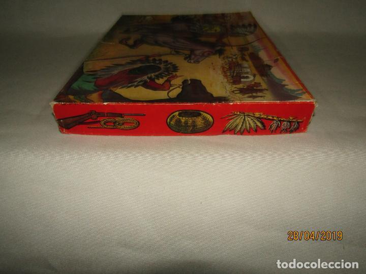 Figuras de Goma y PVC: Antigua Caja COWBOYS A CABALLO Y A PIE de COMANSI Primerísima Serie en Plástico Pintado - Foto 10 - 161721766