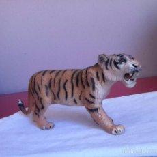 Figuras de Goma y PVC: TIGRE PVC ( BULLY) 18 X 7 CM. Lote 161797506