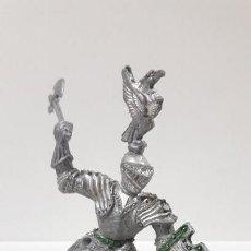 Figuras de Goma y PVC: GUERRERO MEDIEVAL . REALIZADO POR LAFREDO . AÑOS 60. Lote 161862210