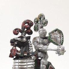 Figuras de Goma y PVC: GUERRERO MEDIEVAL A CABALLO . REALIZADO POR LAFREDO . AÑOS 60 . SERIE GRANDE. Lote 161862494