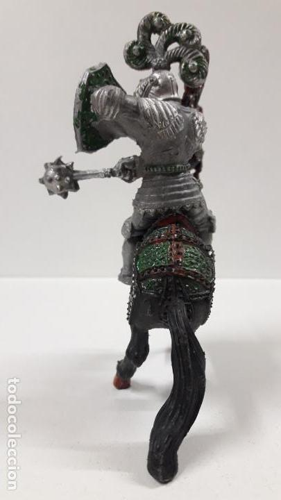Figuras de Goma y PVC: GUERRERO MEDIEVAL A CABALLO . REALIZADO POR LAFREDO . AÑOS 60 . SERIE GRANDE - Foto 4 - 161862494