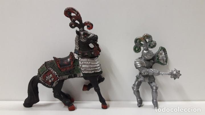 Figuras de Goma y PVC: GUERRERO MEDIEVAL A CABALLO . REALIZADO POR LAFREDO . AÑOS 60 . SERIE GRANDE - Foto 7 - 161862494