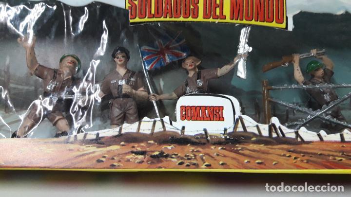 Figuras de Goma y PVC: INGLESES - SOLDADOS DEL MUNDO REF 198 . REALIZADA POR COMANSI . AÑOS 70 - Foto 2 - 161863298