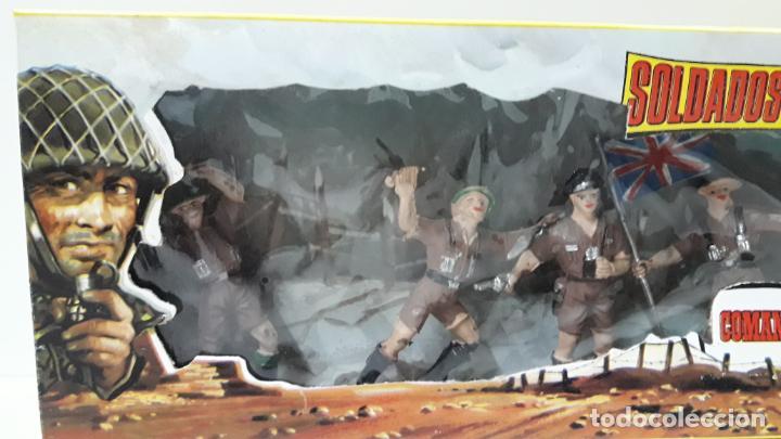 Figuras de Goma y PVC: INGLESES - SOLDADOS DEL MUNDO REF 198 . REALIZADA POR COMANSI . AÑOS 70 - Foto 3 - 161863298