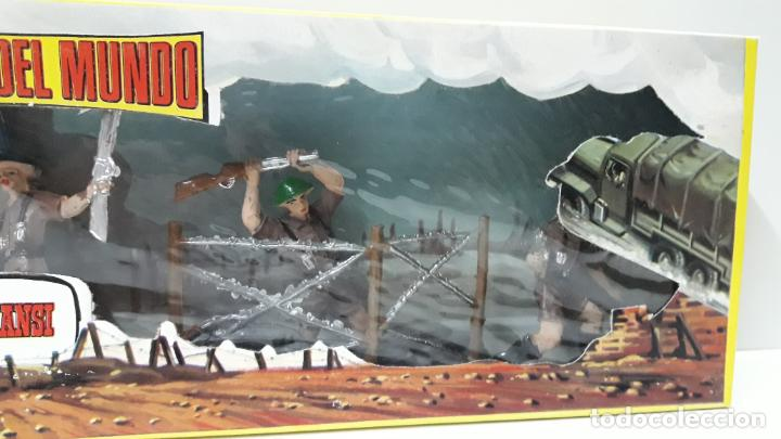 Figuras de Goma y PVC: INGLESES - SOLDADOS DEL MUNDO REF 198 . REALIZADA POR COMANSI . AÑOS 70 - Foto 4 - 161863298