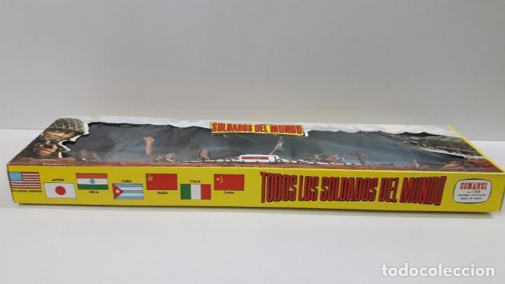 Figuras de Goma y PVC: INGLESES - SOLDADOS DEL MUNDO REF 198 . REALIZADA POR COMANSI . AÑOS 70 - Foto 6 - 161863298