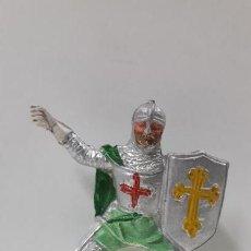 Figuras de Goma y PVC: EL CID CAMPEADOR . REALIZADO POR PECH . SERIE FIGURAS HISTORICAS . AÑOS 50 EN GOMA. Lote 161869966