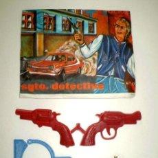 Figuras de Goma y PVC: LOTE MONTAPLEX SOBRE Nº 227 SARGENTO DETECTIVE VACÍO + CONTENIDO ORIGINAL. Lote 161904422