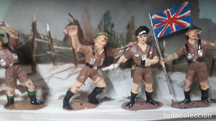 Figuras de Goma y PVC: INGLESES - SOLDADOS DEL MUNDO REF 198 . REALIZADA POR COMANSI . AÑOS 70 - Foto 12 - 161863298