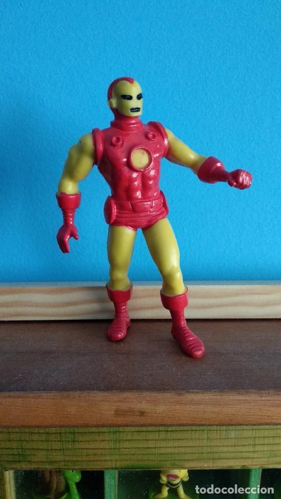 COMICS SPAIN IRON MAN,IRONMAN AMARILLO (Juguetes - Figuras de Goma y Pvc - Comics Spain)