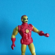 Figuras de Goma y PVC: COMICS SPAIN IRON MAN,IRONMAN AMARILLO. Lote 162014102