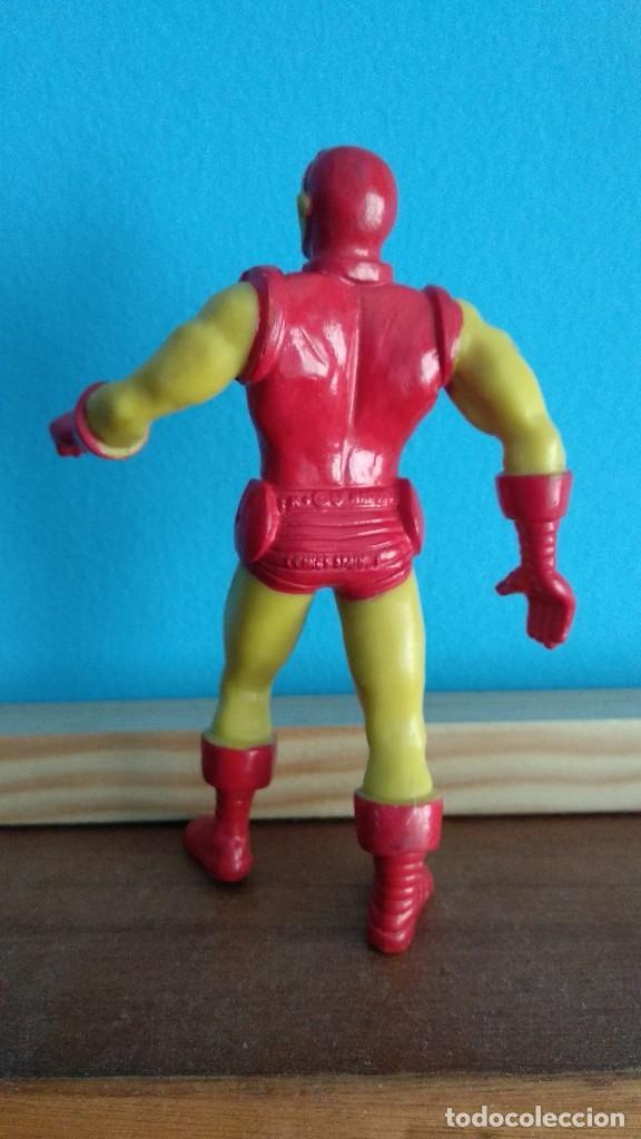 Figuras de Goma y PVC: comics spain iron man,ironman amarillo - Foto 2 - 162014102