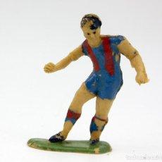 Figuras de Goma y PVC: ANTIGUA FIGURA FUTBOLISTA - JECSAN - AÑOS 60 - PLASTICO - LOTE Nº20. Lote 162371574