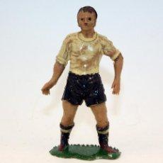 Figuras de Goma y PVC: ANTIGUA FIGURA FUTBOLISTA - JECSAN - AÑOS 60 - PLASTICO - LOTE Nº21. Lote 162371582