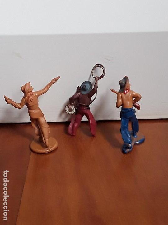 Figuras de Goma y PVC: VAQUERO DEL OESTE GOMA AÑOS 50, DE LA CASA GAMA - Foto 2 - 162400122