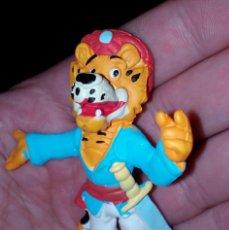 Figuras de Goma y PVC: ANTIGUA FIGURA EN GOMA PVC SANDOKAN 1992 BRB STAR TOYS - MUÑECO. Lote 162421606