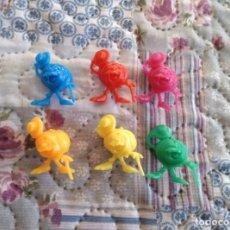 Figuras de Goma y PVC: LOTE 6 COLORES DE RUPERTA PROGRAMA UN, DOS, TRES NUEVAS. Lote 162495922
