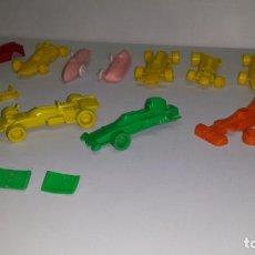 Figuras de Goma y PVC: BÓLIDO FORMULA 1 - BIMBO - LOTE PARA REPUESTOS - VARIOS MODELOS. Lote 162504378