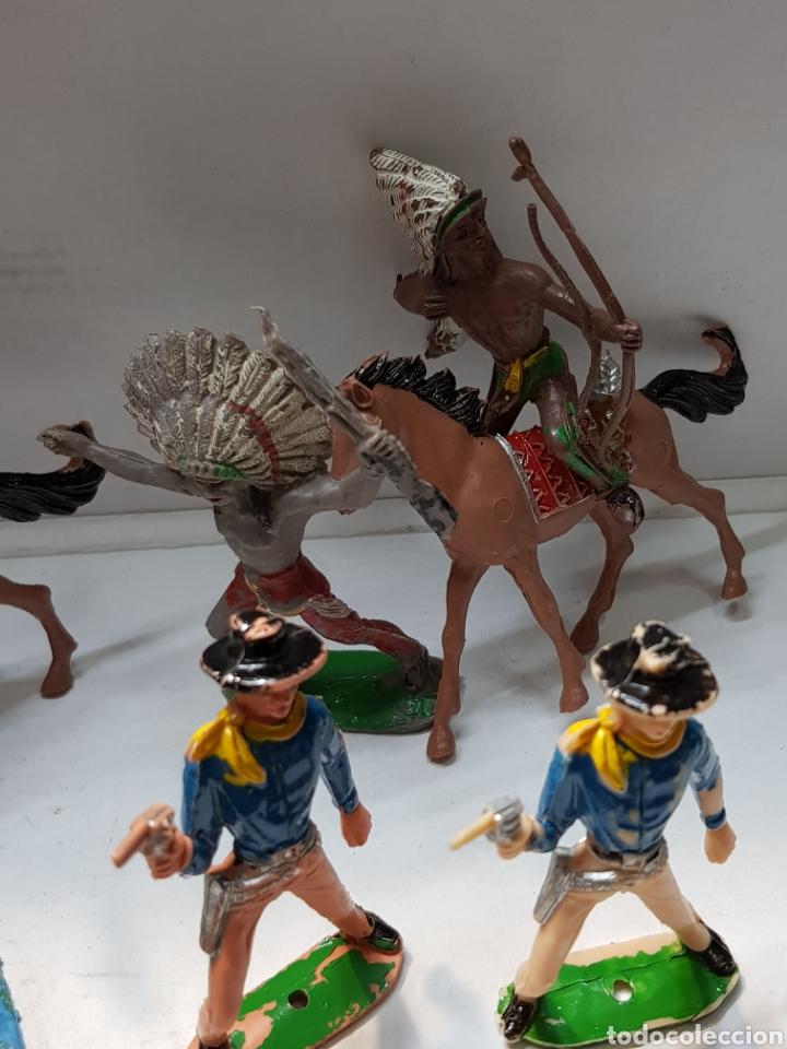 Figuras de Goma y PVC: Figuras Comansi lote 12 piezas primeras generaciónes alguna muy buena - Foto 5 - 162799260