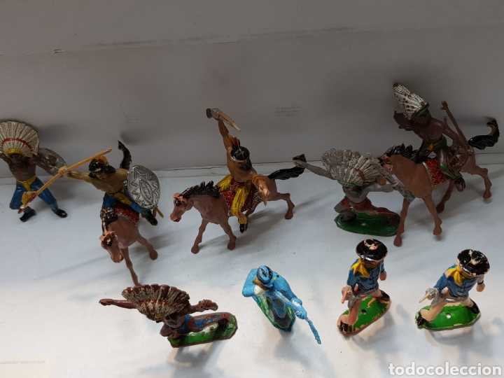 Figuras de Goma y PVC: Figuras Comansi lote 12 piezas primeras generaciónes alguna muy buena - Foto 7 - 162799260