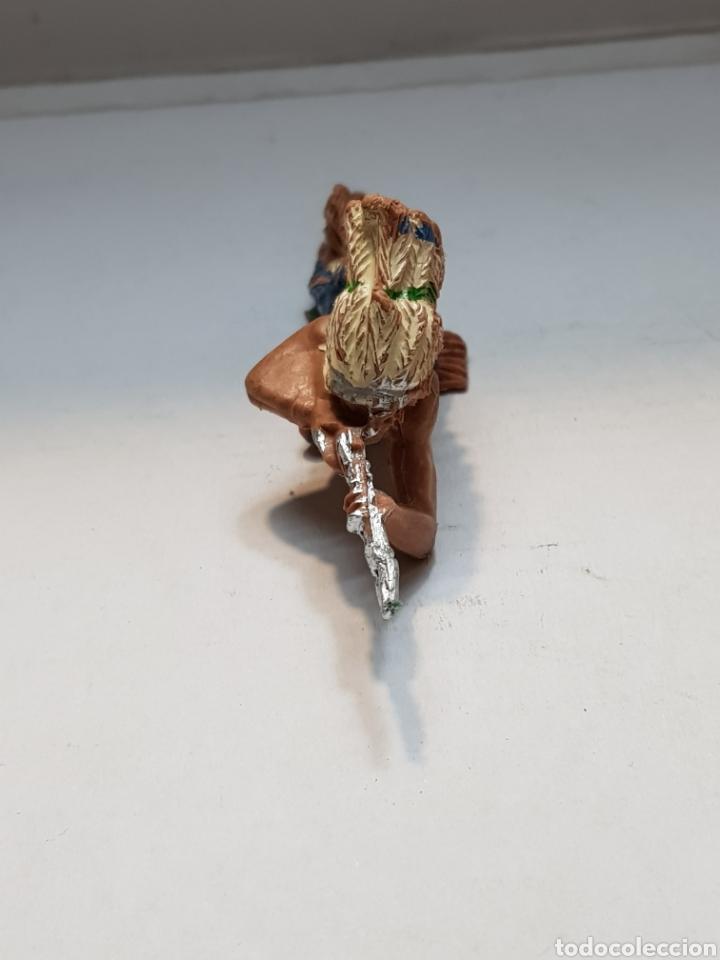 Figuras de Goma y PVC: Figura Pech indio acostado escasa - Foto 4 - 162799964