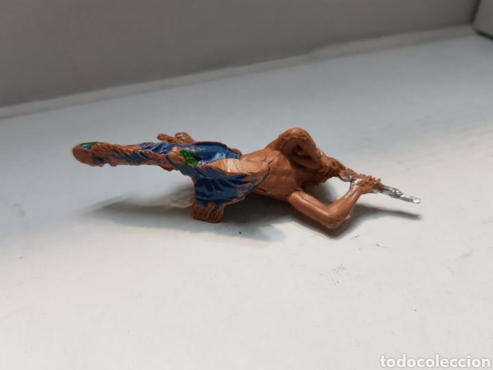 Figuras de Goma y PVC: Figura Pech indio acostado escasa - Foto 5 - 162799964
