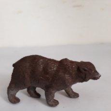 Figuras de Goma y PVC: FIGURA OSO PARDO GOMA PECH. Lote 162878994