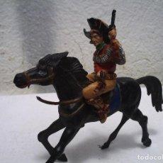 Figuras de Goma y PVC: VAQUERO A CABALLO DE LAFREDO. Lote 162908110