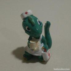 Figuras Kinder: KINDER DINOSAURIO DINO DRAGON ENFERMERA MEDICINA MEDICO MONOBLOC. Lote 163021038