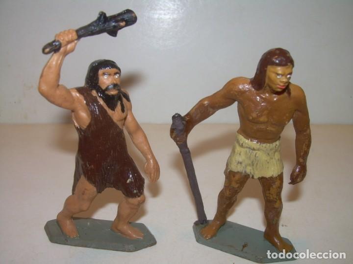DOS FIGURAS. (Juguetes - Figuras de Goma y Pvc - Starlux)
