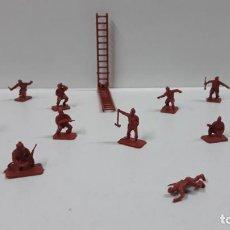Figuras de Goma y PVC: LOTE DE SOLDADITOS MONTAPLEX - YUGOSLAVOS . AÑOS 70 / 80. Lote 163381638