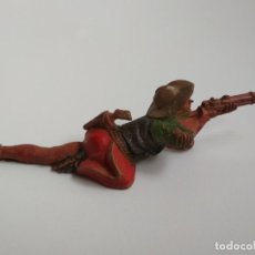 Figuras de Goma y PVC: FIGURA VAQUERO REAMSA GOMA AÑOS 50. Lote 163467378