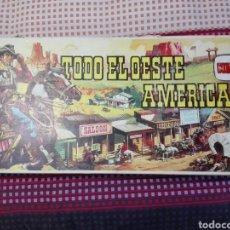 Figuras de Goma y PVC: CAJA TODO EL OESTE AMERICANO COMANSI REFERENCIA 222. Lote 163543568