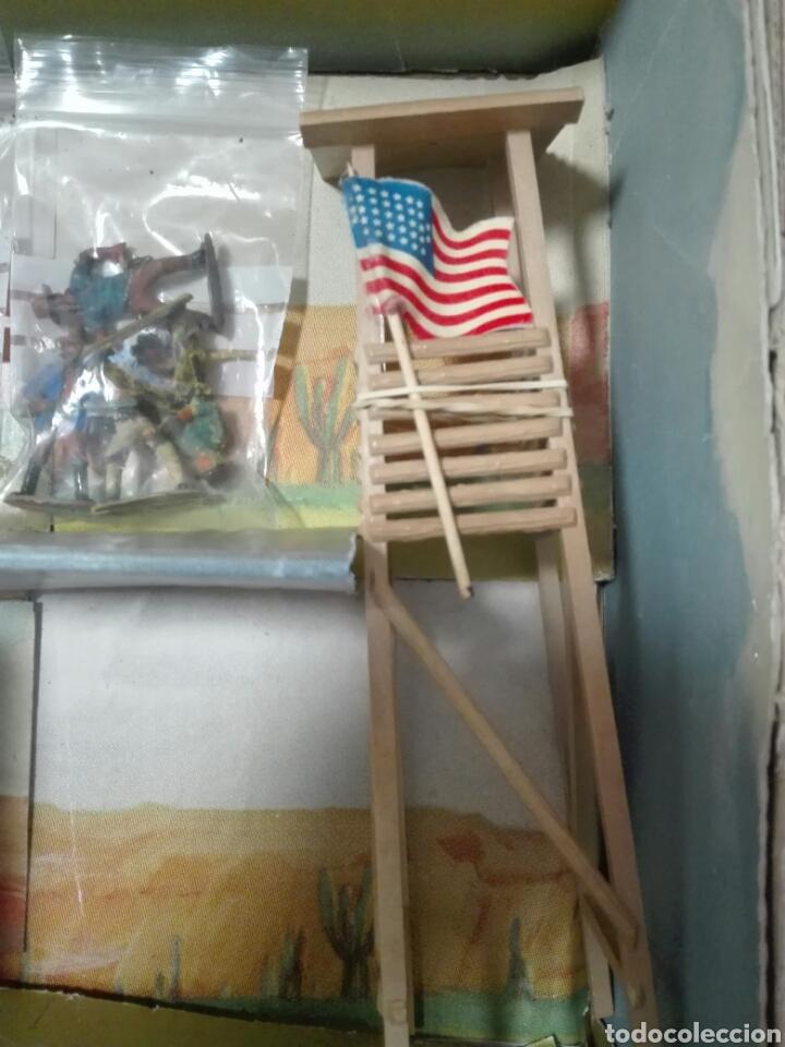 Figuras de Goma y PVC: Caja Todo El oeste Americano Comansi referencia 222 - Foto 7 - 163543568