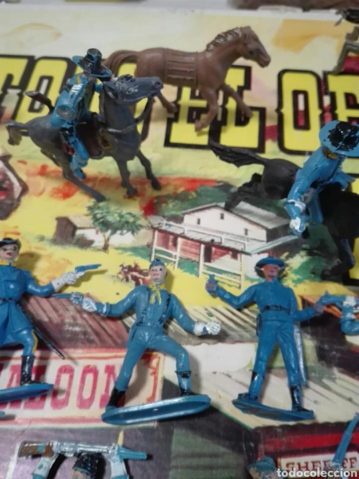 Figuras de Goma y PVC: Caja Todo El oeste Americano Comansi referencia 222 - Foto 13 - 163543568