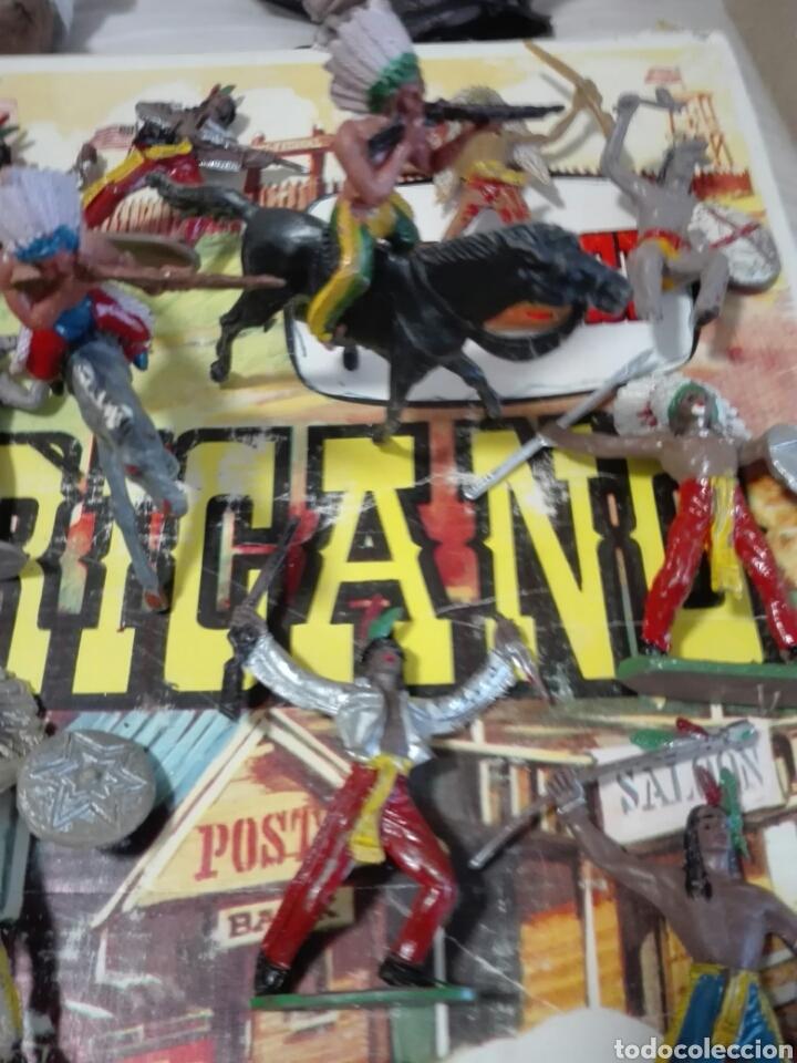 Figuras de Goma y PVC: Caja Todo El oeste Americano Comansi referencia 222 - Foto 14 - 163543568