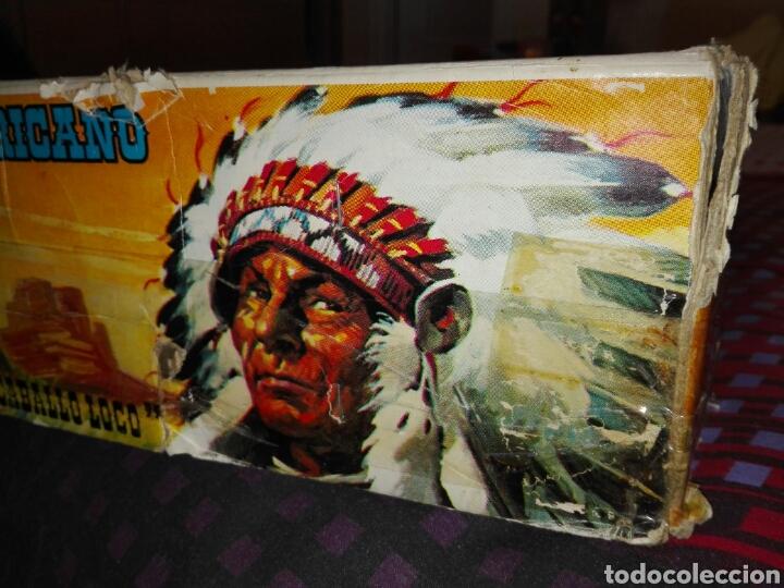Figuras de Goma y PVC: Caja Todo El oeste Americano Comansi referencia 222 - Foto 18 - 163543568