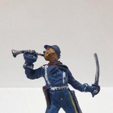 Figuras de Goma y PVC: SOLDADO FEDERAL . REALIZADO POR PECH . AÑOS 50 EN GOMA. Lote 163584870