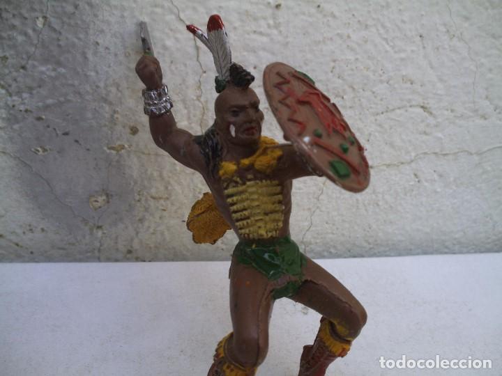 Figuras de Goma y PVC: indio grande y caballo de lafredo - Foto 3 - 163610826