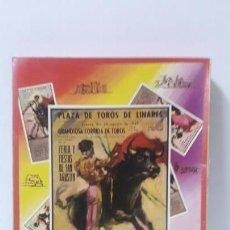 Figuras de Goma y PVC: CAJA DE LA CORRIDA DE TOROS - SIN CONTENIDO . REALIZADA POR PECH . AÑOS 60. Lote 163762438